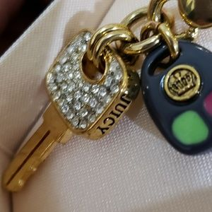 Juicy Couture keys charm